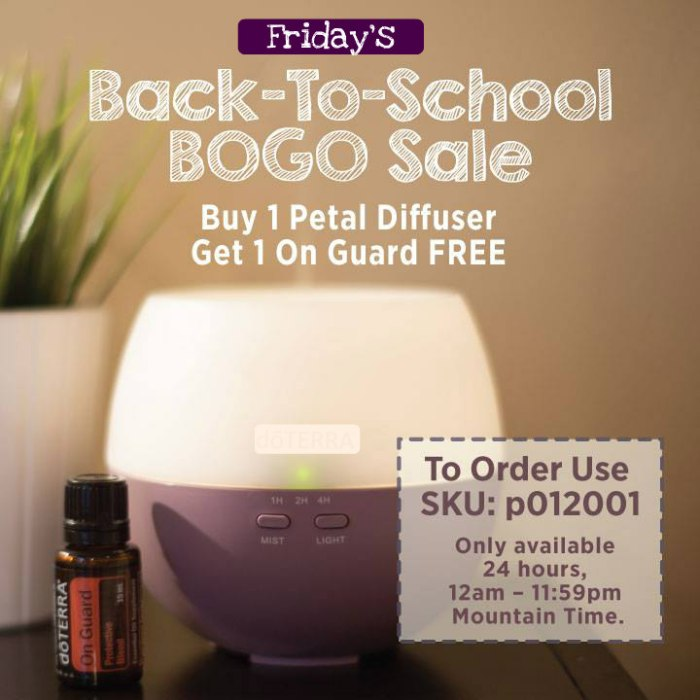 Back To School BOGO Friday