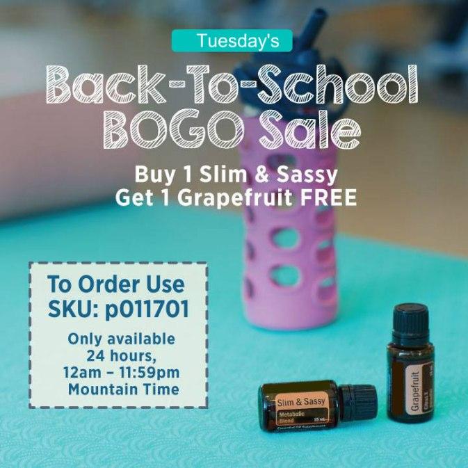 Back To School BOGO Tuesday