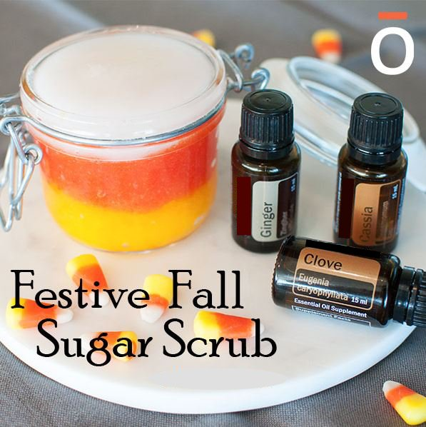 Festive Fall Sugar Scrub