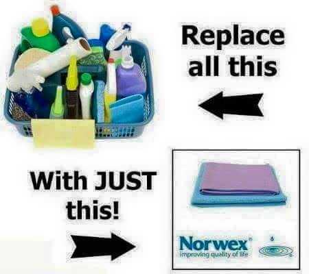 Norwex Demonstration Clean Home Healthy Family
